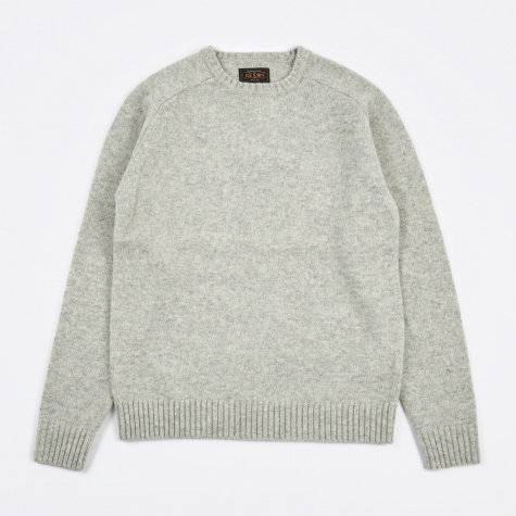 5G Crew Knit - Light Grey