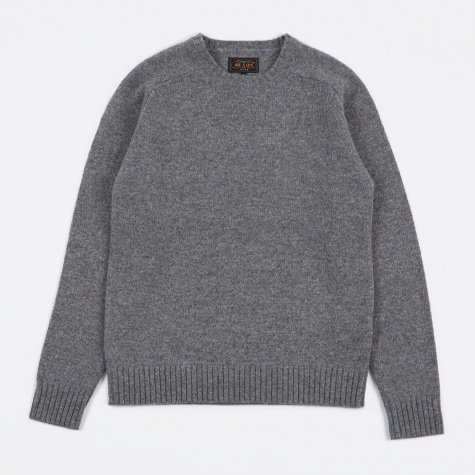 5G Crew Knit - Dark Grey