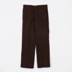 Dickies Original Work Trousers - Dark Brown