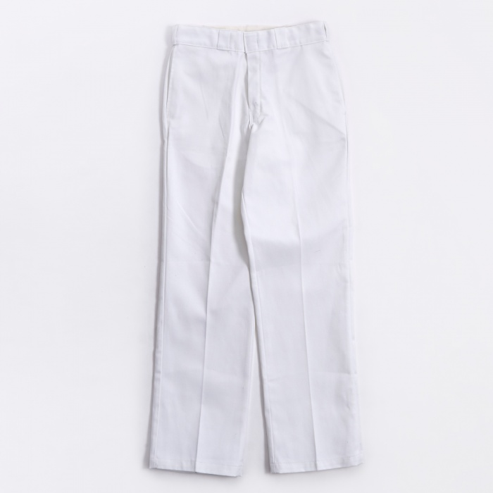Dickies Original Work Trousers - White (Image 1)