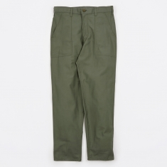 Stan Ray Taper Fit 4 Pocket Fatigue Trousers 8.5oz - Olive Drab