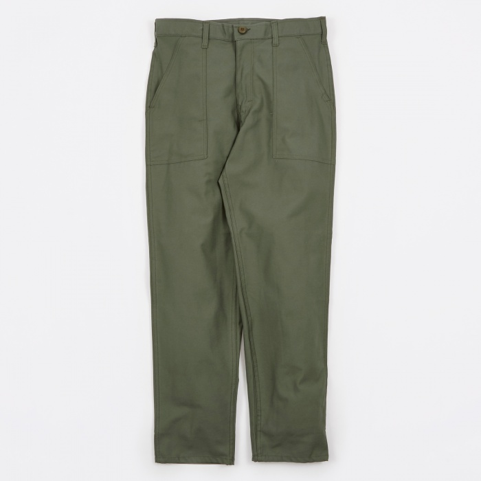 Stan Ray Taper Fit 4 Pocket Fatigue Trousers 8.5oz - Olive Drab (Image 1)