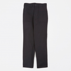Stan Ray Taper Fit 4 Pocket Fatigue Trousers 8.5oz - Black