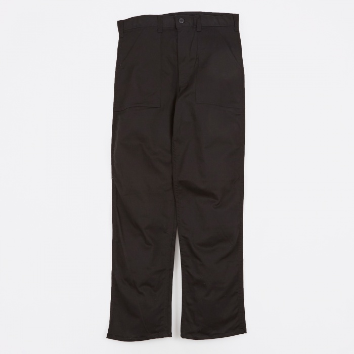 Stan Ray OG107 4 Pocket Fatigue Trousers 8.5oz - Black Twill (Image 1)