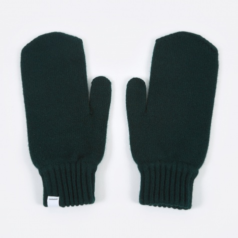 Norse Project Ebba Lambswool Gloves - Moss Green