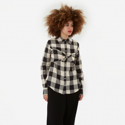 Elaine Shirt - Black/Cream