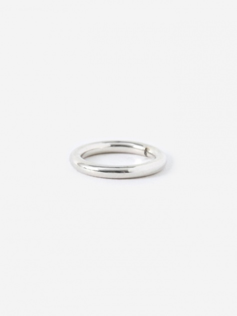 FACET Round Ring - 925 Sterling Silver