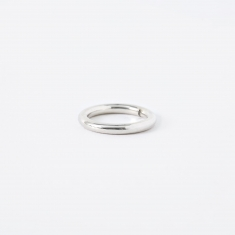 The Boyscouts FACET Round Ring - Sterling Silver