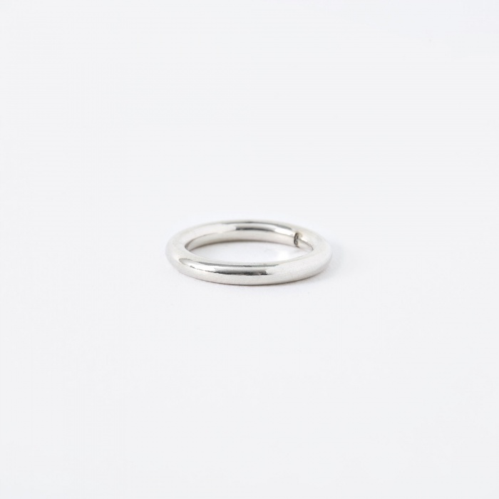 The Boyscouts FACET Round Ring - Sterling Silver (Image 1)