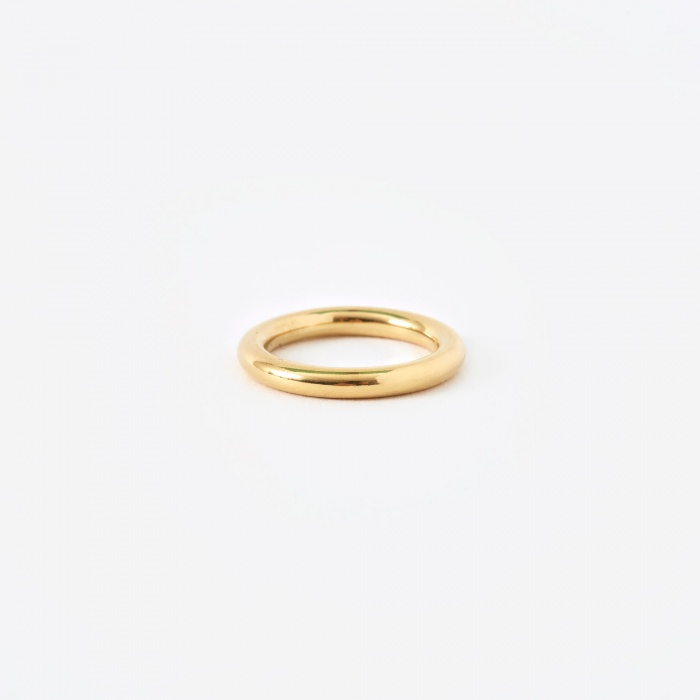 The Boyscouts FACET Round Ring - 18K Gold Plated (Image 1)