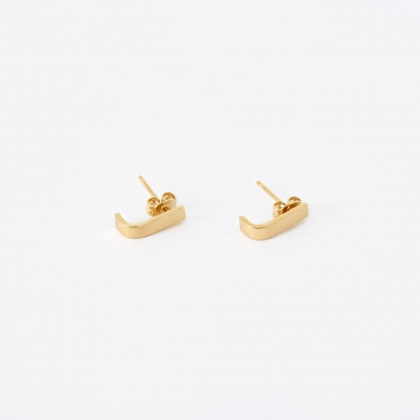PACK Earring Pin L (Pair) - 18K Gold Plated
