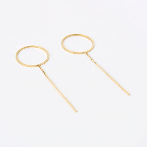 CATCH Earring (Pair) - 18K Gold Plated