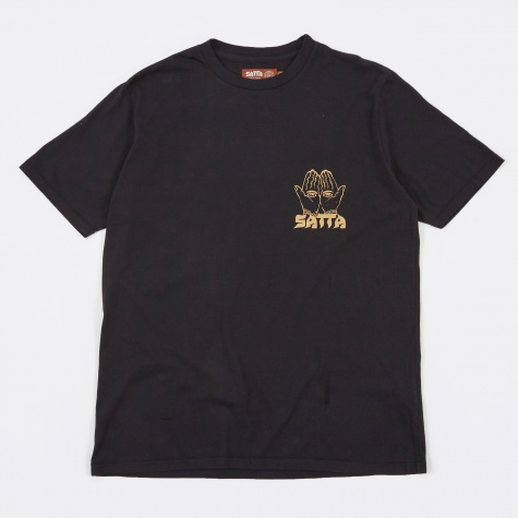 Incense Supply T-Shirt - Washed Black