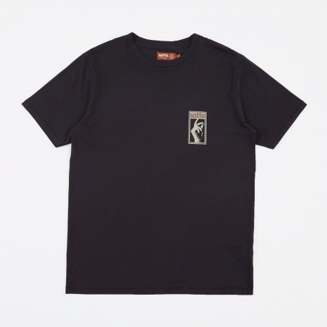 Stax T-Shirt - Washed Black