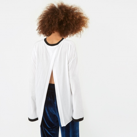 Colorblock Top - White/Black