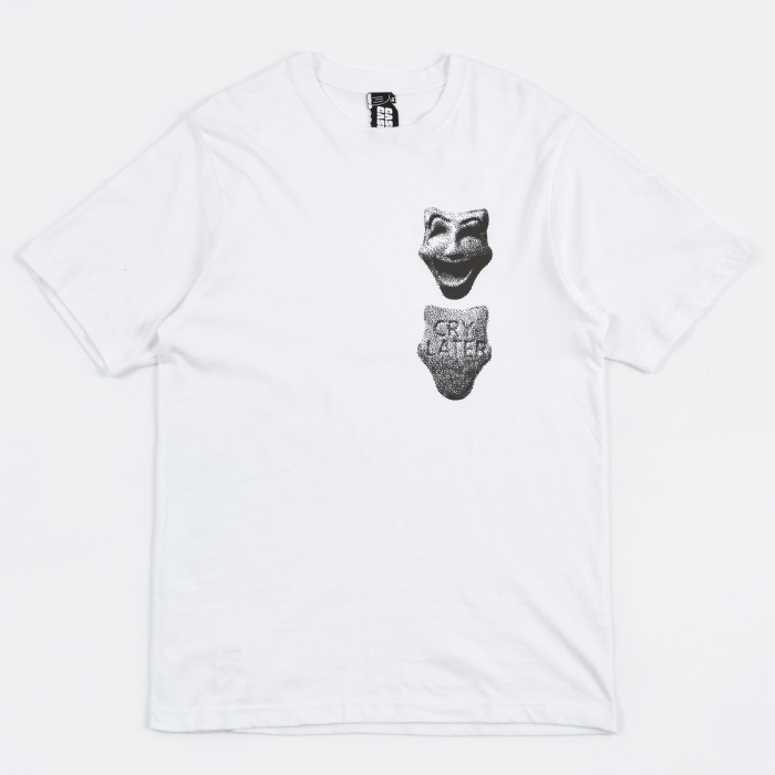 Gasius Cry Later T-Shirt - White (Image 1)