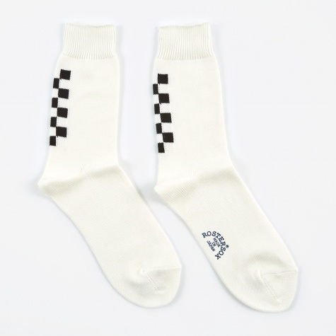 Navin Socks - White