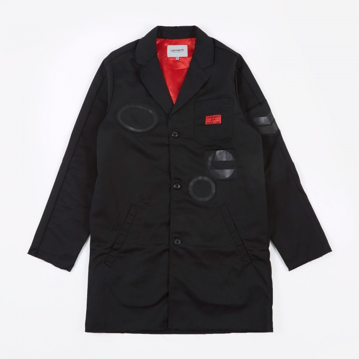 Carhartt x SlamJam SJ Minute Man Shop Jacket - Black (Image 1)