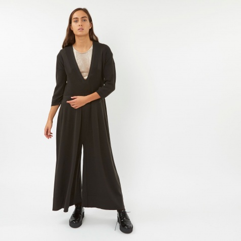 Knit Jumpsuit - Anthracite