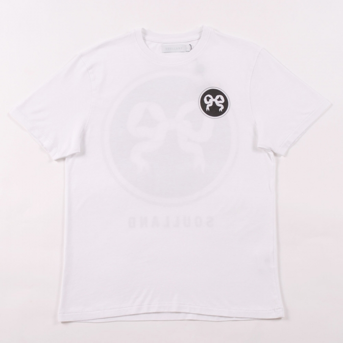 Soulland Ribbon T Shirt - White (Image 1)