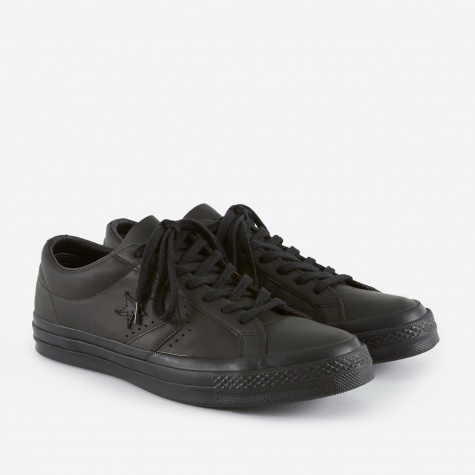 x Engineered Garments One Star - Black/Black