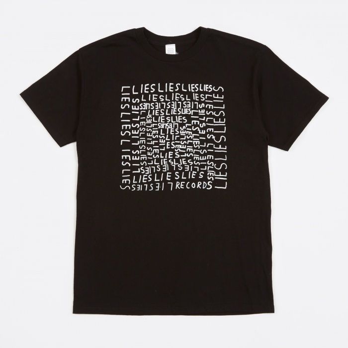 L.I.E.S. Records x Joe Roberts Window Scratcher T-Shirt - Black (Image 1)