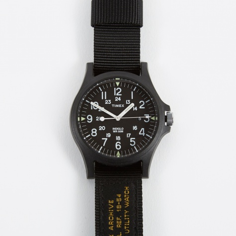 Archive Acadia 2 Watch - Black/Black