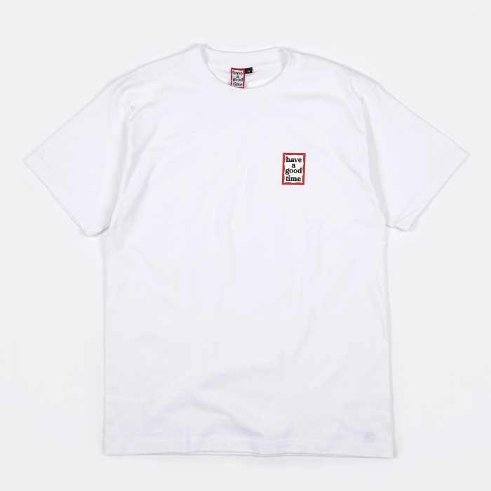 Have A Good Time Mini Frame T-Shirt - White (Image 1)
