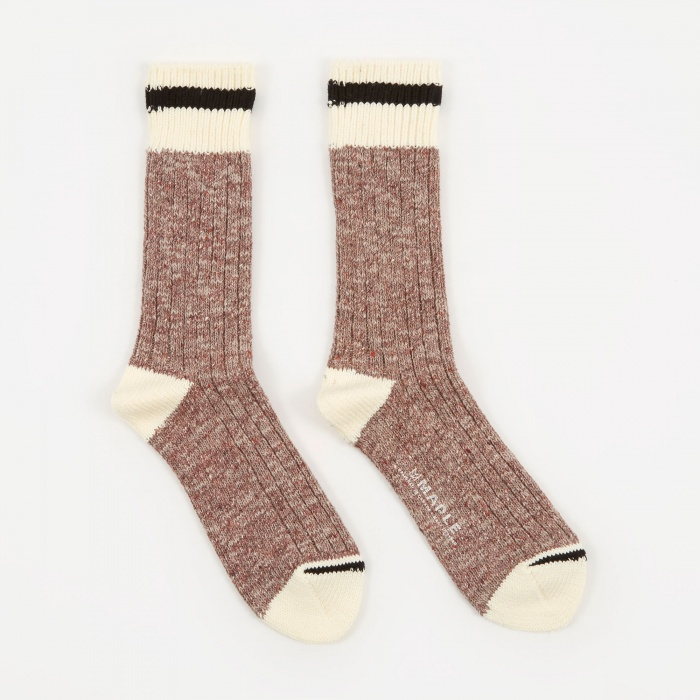 Maple Heritage Sock - Purple (Image 1)