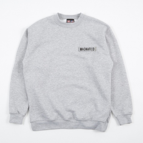 Nametape Sweat - Grey Heather