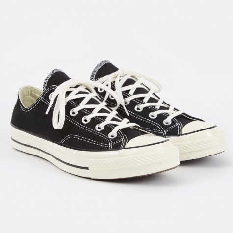 1970s Chuck Taylor All Star Ox - Black