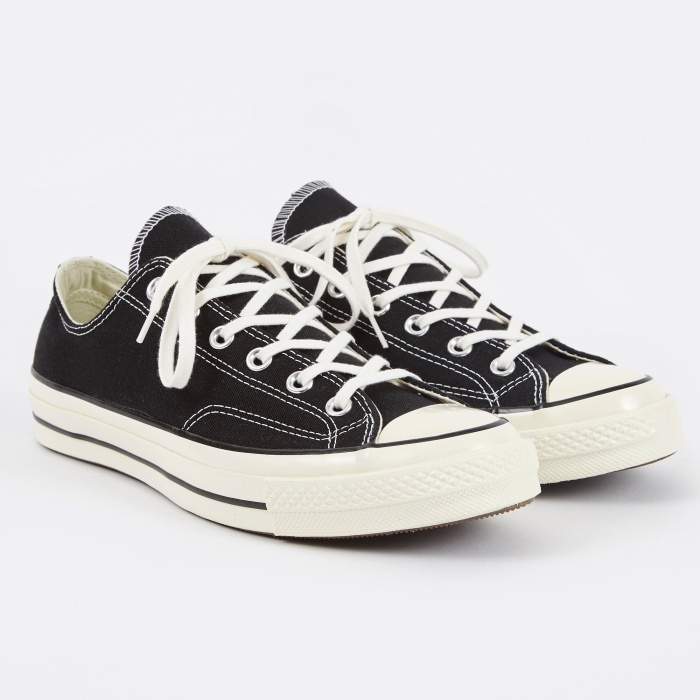 Converse 1970s Chuck Taylor All Star Ox - Black (Image 1)