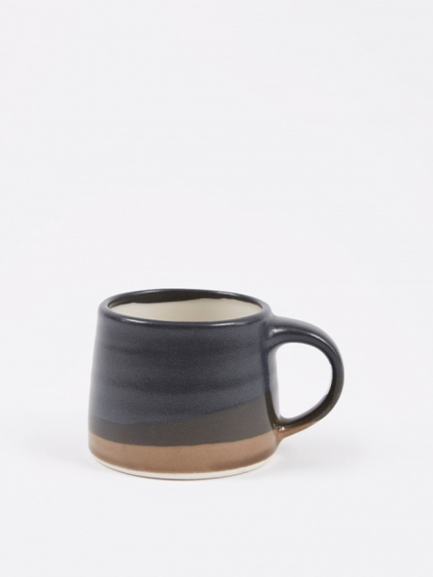 SCS Espresso Mug 110ml - Black x Brown