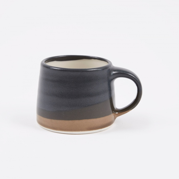 Kinto SCS Espresso Mug 110ml - Black x Brown (Image 1)