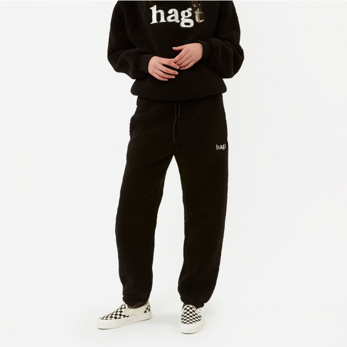Have A Good Time HAGT Fleece Pants - Black (Image 1)