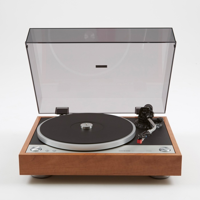 Onkyo CP-1050 Direct Drive Turntable - Wood (Image 1)