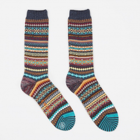 Doma Socks - Navy