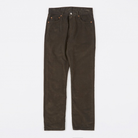 Second Cut Pants - Sludge Olive Corduroy