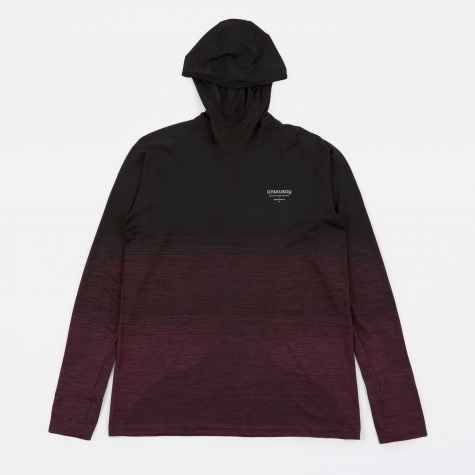 DF Knit Top - Black/Dark Team Red