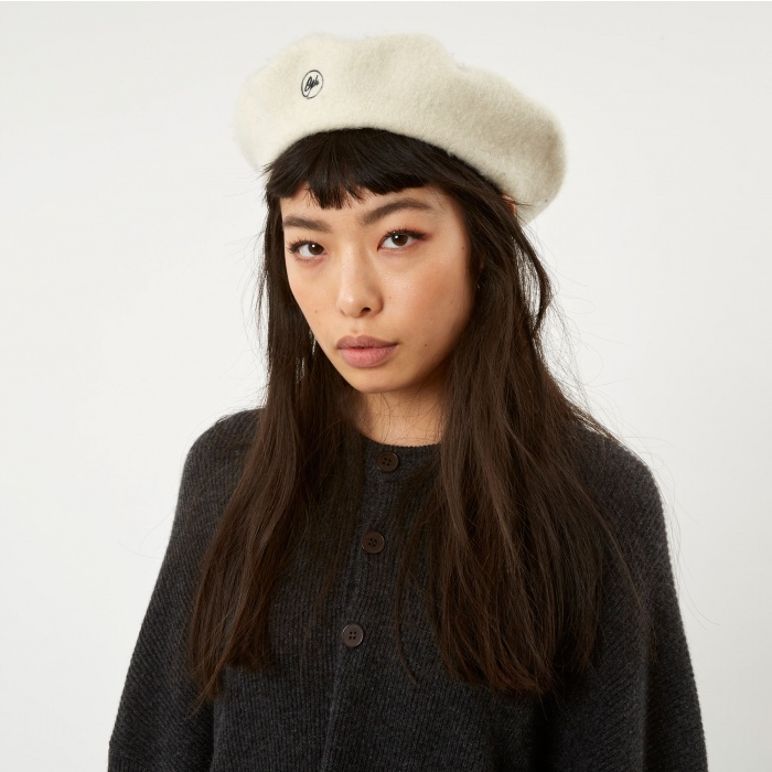 Goods By Goodhood Beret - Ivory (Image 1)