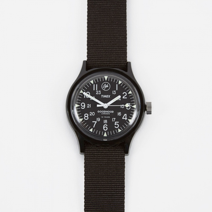 Timex x Goodhood Anniversary MK1 Watch - Black/Black (Image 1)