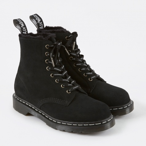 x Goodhood 1460 Made in England Boot - Black Suede