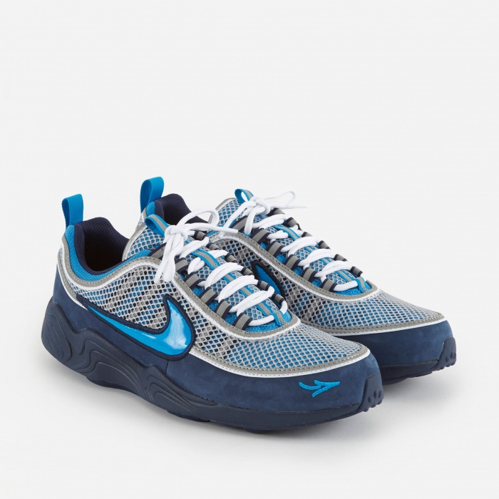 Nike x Stash Air Zoom Spiridon 16 - Harbor Blue/Heritage Cyan (Image 1)
