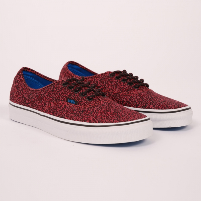 Vans Speckle - Rouge Red/True White (Image 1)