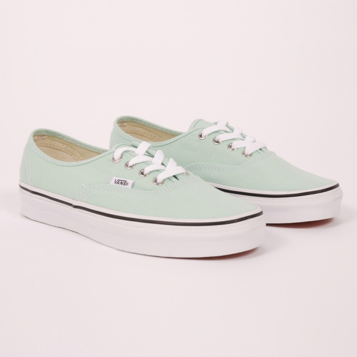 Vans Authentic - Gossamer Green/ True White (Image 1)