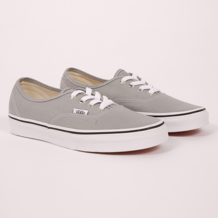 Vans Authentic - Lime Stone/ True White (Image 1)
