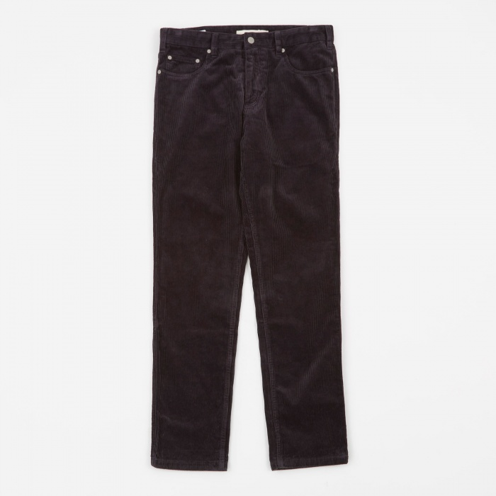 Norse Projects Edvard Corduroy Pant - Mouse Grey (Image 1)