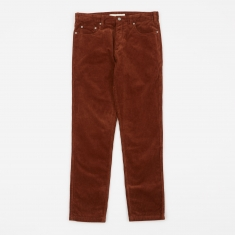 Norse Projects Edvard Corduroy Pant - Zircon Brown