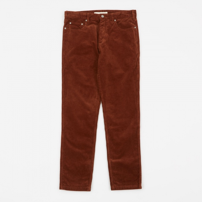 Norse Projects Edvard Corduroy Pant - Zircon Brown (Image 1)