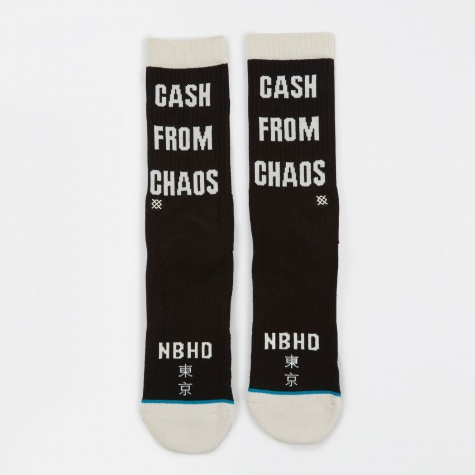 x Stance Socks Cash from Chaos - Black